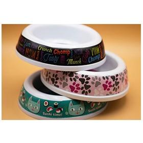 "Food Bowl ""Cats"" Image"