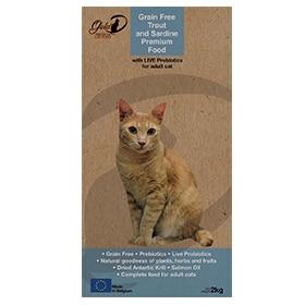 """Premium Cat Food """"Trout & Sardine"""" by Gold-D Image"""