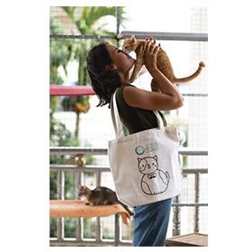 """Tote Bag """"Cat"""" Image"""