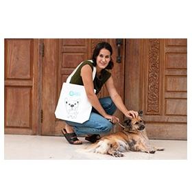 """Tote Bag """"Dog"""" Image"""